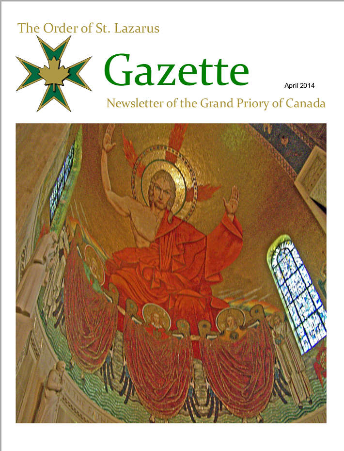 The Gazette, April 2014, Vol. 28, No. 1