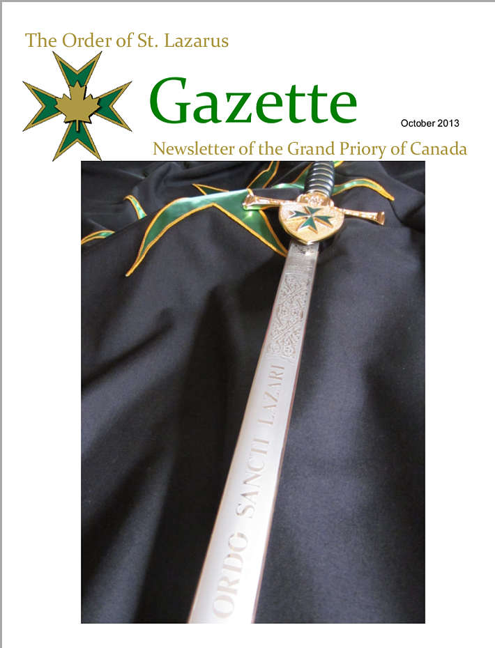 The Gazette, October 2013, Vol. 27, No. 2